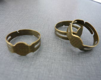 Bronze Adjustable ring