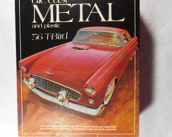 Monogram Diecast Metal 1956 T-Bird Model Kit