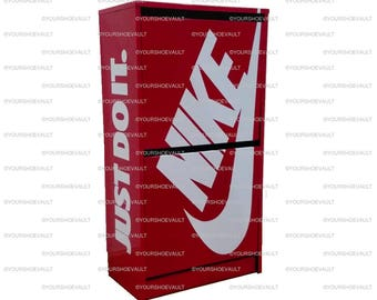 Nike Shoe Storage Cabinet / Box / Chest