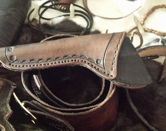 Hand made H&R holster.