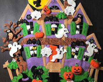 Haunted House Completed from Bucilla