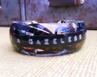 Personalised Embossed Mixtape Bangle