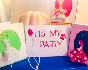 Its My Party invitations