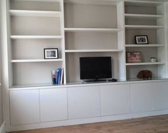 Entertainment, display and storage unit