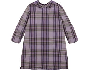 Dress Clemence Plaid