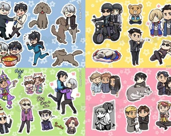 YOI self-cut stickers