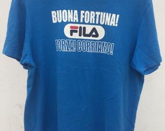 Vintage Fila Big Logo Sweatshirt Sm Size / Fila Pullover / Fila Big Logo / Fila Hoodie / Fila Jacket / Hip Hop / Rap