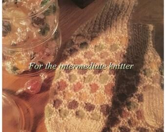 PDF Knit Honeycomb Mittens