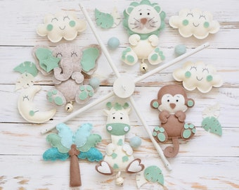 """Baby Mobile """"Forest Animals"""""""