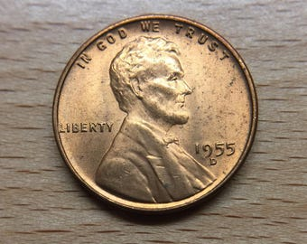 1955-D Lincoln Cent Uncertified