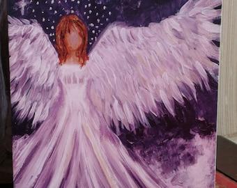 Maria Angel of Light A5 Card