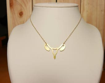 "Necklace ""Fool me"" gold"