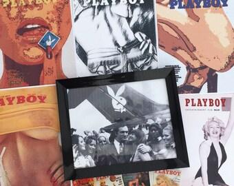 Hugh Hefner Playboy Poster
