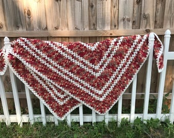 Handmade cotton blanket