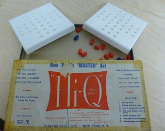 Hi-Q Game - New Double Master Set  - used from the 60's
