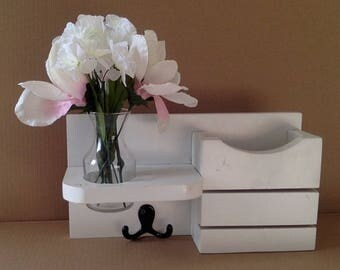 White Mail Caddy