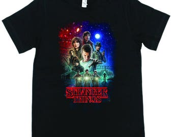 Stranger Things T Shirt -T Shirts- Long Sleeves-Tanks-Sweatshirts-Hoodies-Youth-Womens-Mens-up to 5XL