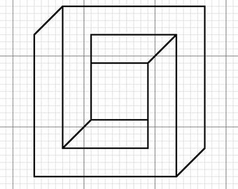 Impossible Geometry - The Square