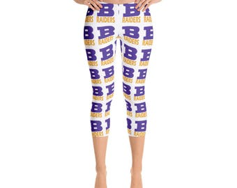 Bloomington Raider Spirit Capri Leggings