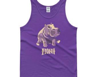 Fiona The Hippo Shirt #TeamFiona, Cute Baby Hippo Tank Top