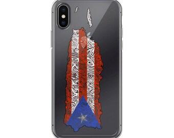 Puerto Rico iPhone Case, Puerto Rico Case iPhone 5/5s/SE, Puerto Rico Case iPhone 6/6s, Puerto Rico Case iPhone 6 Plus/6s Plus, Puerto Rico