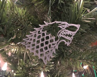 House of Stark Game of Thrones Tree Ornament 3D-Printed