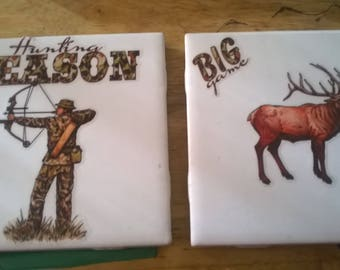 hunting coasters 1