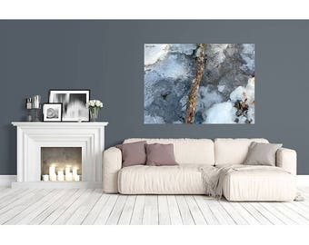 Winter River, winter photo, Christmas, art, digital print-winter river, art photos, digital print, Christmas, winter photos