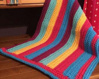 Bright Stripes Blanket