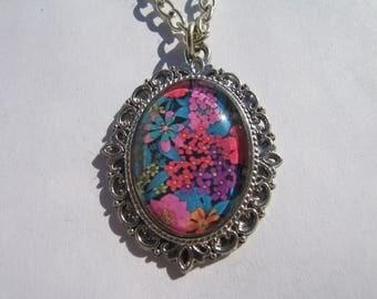 Liberty flower pendant