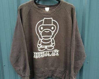 Bape a bathing ape sweatshirt