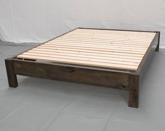 Modern platform bed Etsy