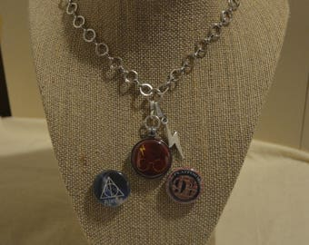 Harry Potter Infinity Interchangeable  Necklace Sets