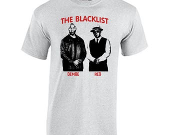 The Blacklist Dembe and Red T Shirt James Spader Raymond Reddington The Blacklist TV Show