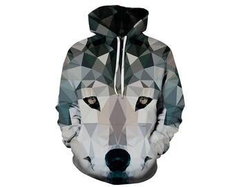 Wolf Hoodie, Wolf, Wolf Hoodies, Animal Prints, Animal Hoodie, Animal Hoodies, Wolves, Hoodie Wolf, Hoodie, 3d Hoodie, 3d Hoodies - Style 17