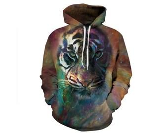 Tiger Hoodie, Tiger, Tiger Hoodies, Animal Prints, Animal Hoodie, Animal Hoodies, Tigers, Hoodie Tiger,Hoodie,3d Hoodie,3d Hoodies Style 9