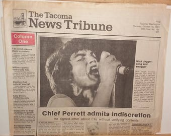 Newspaper: Rolling Stones play to 70,000 in the Kingdome!