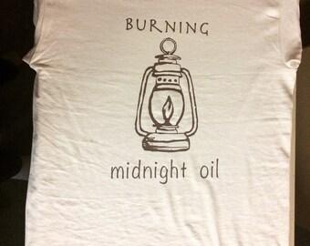 Burning Midnight Oil - natural