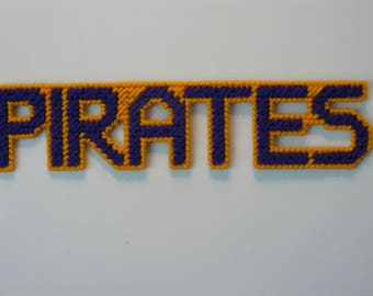 Pirates in Handmade, Needlepoint Magnets