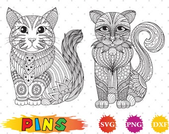 Cat svg,dxf,png/Cat clipart for Silhouette, Cricut,Design,Print and any more