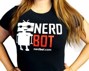 Women's Nerdbot Shirt
