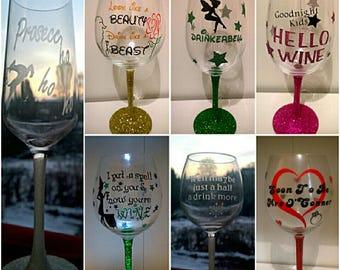 Gitter wine glasses