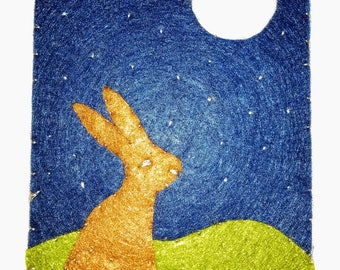 Hare and Moon Needle Book