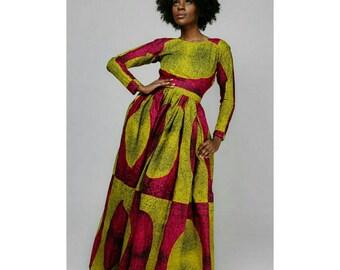 African print dress | Etsy