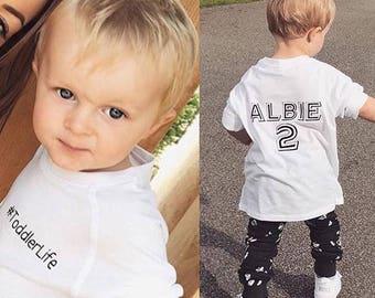 Personalised #ToddlerLife T-Shirt