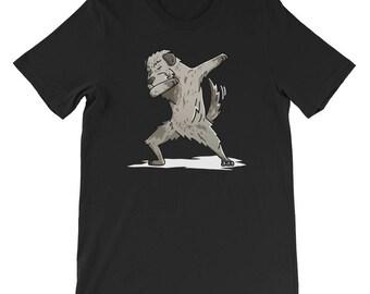 Cute Dabbing Irish Wolfhound T-Shirt Funny Dog Gift