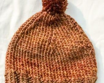 Chunky Knit PomPom Hats