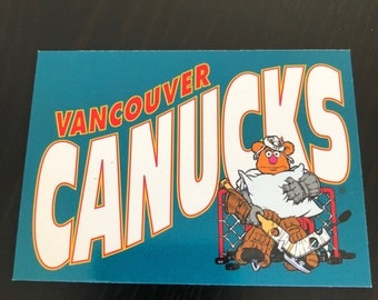 Vancouver Canucks Muppets Fridge Magnet