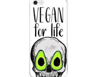 vegan for life  [5/5s/se/6/6plus] white