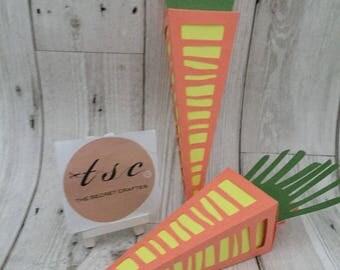 Handmade Carrot Sweet Cone